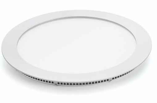 MEGE LED Round Panel, Recess, 22W, 300mm Bezel, IP44, 5yrs