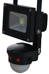 LED Floodlights with PIR