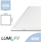 LUMiLife LED Panels, IP40, 5yrs