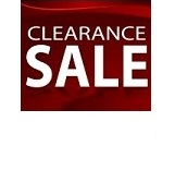 Clearance Sale Items!