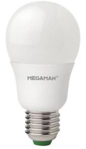 Megaman GLS, 8.5W LED Classic, Dimmable, E27, B22