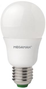 Megaman LED GLS, 5.5W Not Dimmable, E27, B22
