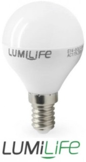 LumiLife LED Golfs - DIMMABLE - E14, E27, B15 and B22 Bases