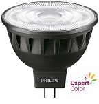MasterLED MR16, NEW ExpertColor 7.5W (=43W) CRI92 Dimmable