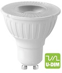 GU10, 5W Economy, Dimmable!