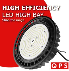 QPS High Efficicency Range, 170lm/W, 5yrs