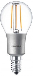 Philips LED Classic Filament Luster 4.5W=40W, 2700K, E14, Dimmable
