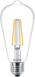 Philips LED Classic ST64 Filament 8W=60W, 2700K, E27, Dimmable