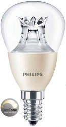 Philips Master LED Luster, 6W (40W), E14, Clear, *DIMTONE*