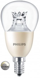 Philips Master LED Luster, 8W (60W), E14, Clear, *DIMTONE*