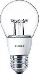 Philips Master LED Bulb, GLS 6W=40W, Screw, CLEAR, Dimmable