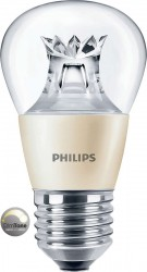 Philips Master LED Luster, 6W (40W), E27, Clear, *DIMTONE*