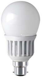 Megaman LED GLS, 8W, 2700K, Frosted, B22, Dimmable