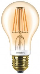 Philips LED Classic GLS Filament 7.5W, 2000K GOLD, E27, Dimmable