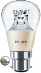 Philips Master LED Luster, 6W (40W), B22, Clear, *DIMTONE*