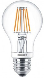 Philips LED Classic GLS Filament 4.5W=40W, 2700K, E27, Dimmable