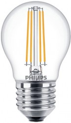 Philips LED Classic Filament Luster 5W=40W, 2700K, E27, Dimmable