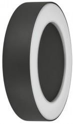Osram LEDVance Surface Round Wall Light, 13W, 3000K, DARK GREY, IP54