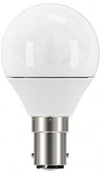 LumiLife LED Golf, 5W~40W, B15, Frosted, Dimmable