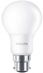 Philips CorePro LED Bulb, GLS, 5.5W-40W, 2700K, B22 Bayonet, No Dim
