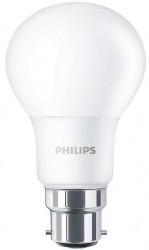 Philips CorePro LED Bulb, GLS, 8W-60W, 2700K, B22 Bayonet, No Dim