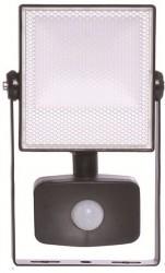 Energizer LED Flood Light, 10W, 6500K, 900lm, IP44, PIR SENSOR
