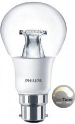 Philips Master LED Bulb, GLS 6W=40W, Bayonet, DIMTONE