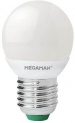 Megaman Gen2 LED Golf, 3.5W, E27, 2800K, 250lm, Not Dimmable