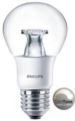 Philips Master LED Bulb, GLS 6W=40W, Screw, DIMTONE