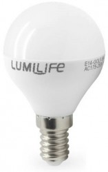 LumiLife LED Golf, 5W~35W, E14, Dimmable