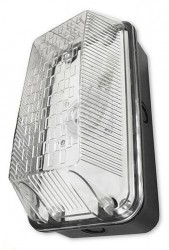 Powermaster Polycarbonate LED Bulkhead, IP65, 10W, 650lm, 6500K