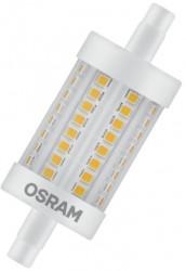 Osram Parathom LED R7s, 78mm, 8.5W-75W, 2700K, Dimmable, 5yrs