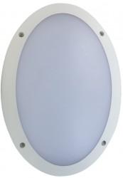 Fern Howard Atlantic LED Oval Bulkhead,10.5W, 4000K, IK10, IP66