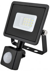 Eveready LED Flood Light, 10W, 4000K, 800lm, IP44, PIR SENSOR
