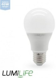 LumiLife LED GLS, 6W=40W, 2700K, E27, Dimming Option