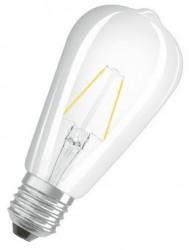 Osram Parathom LED Classic ST64, 7W=60W, 2700K, E27, No Dim