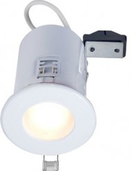 Robus RFS10165, Low Voltage, Fire Rated Downlight, IP65, WHITE