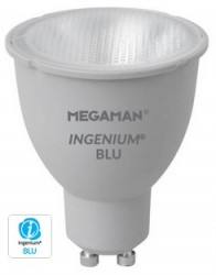 Megaman LED GU10 8W, 2800K, 35D, Ingenium Blutooth, Dimmable