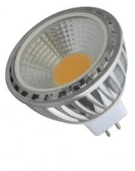 Heathfield LED MR16 COB, 5W, 3000K, 90D, Not Dimmable
