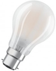 Osram LED Classic A GLASS, GLS, 11W~100W, B22, Not Dimmable