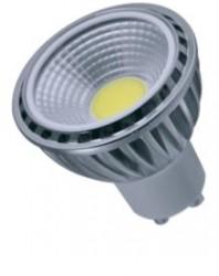 Heathfield LED GU10 COB, 5W=50W, 3000K, 90D, Dimmable