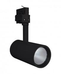 LEDVance LED Tracklight Spot, 25W, Black, 1900lm, 4000K, 24Deg, 5yrs