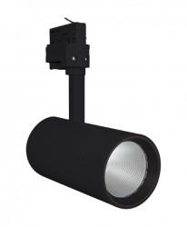 LEDVance LED Tracklight Spot, 35W, Black, 2800lm, 4000K, 24Deg, 5yrs