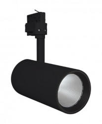 LEDVance LED Tracklight Spot, 55W, Black, 4000lm, 3000K, 24Deg, 5yrs