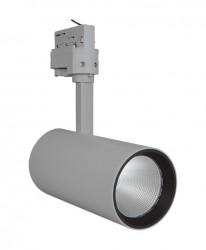 LEDVance LED Tracklight Spot, 35W, Grey, 2800lm, 4000K, 24Deg, 5yrs