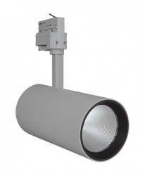 LEDVance LED Tracklight Spot, 55W, Grey, 4000lm, 3000K, 24Deg, 5yrs