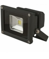 LED Floodlight, 10W, Cool White 6000K, IP65