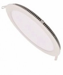 Hawthorn LED Round Panel, 6W, 108mm Cut-Out, IP22, 3yrs