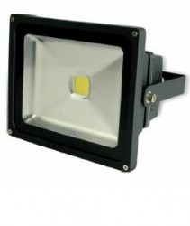 LED Floodlight, 20W, Cool White 6000K, IP65