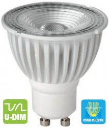 Megaman LED PRO GU10 NEW 7W, 2800K, 35D, Dimmable, 142200
